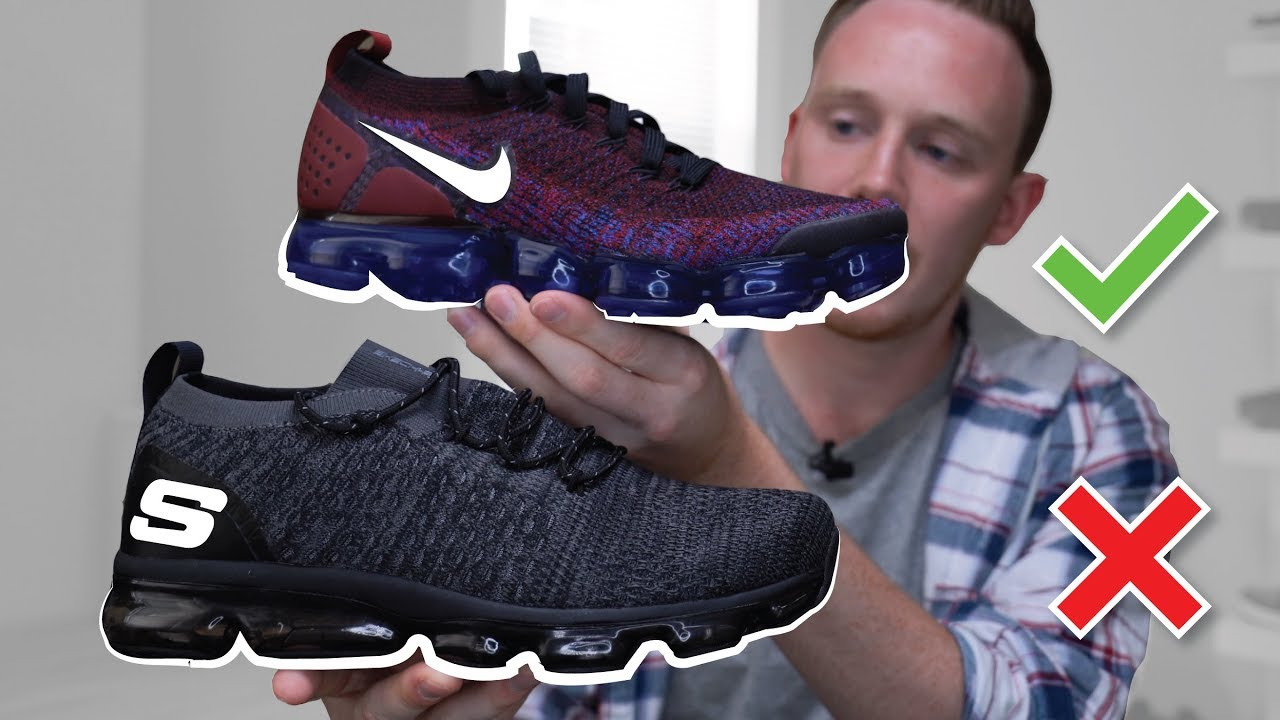 7623c93dd2a40 Did Skechers Rip Off the Nike Vapormax ! Skechers Vapormax Review ...