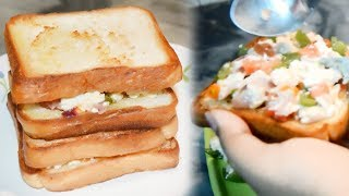 Cottage Cheese on Toast | Cottage Cheese (Paneer) Breakfast Recipe | Cottage Cheese Toast