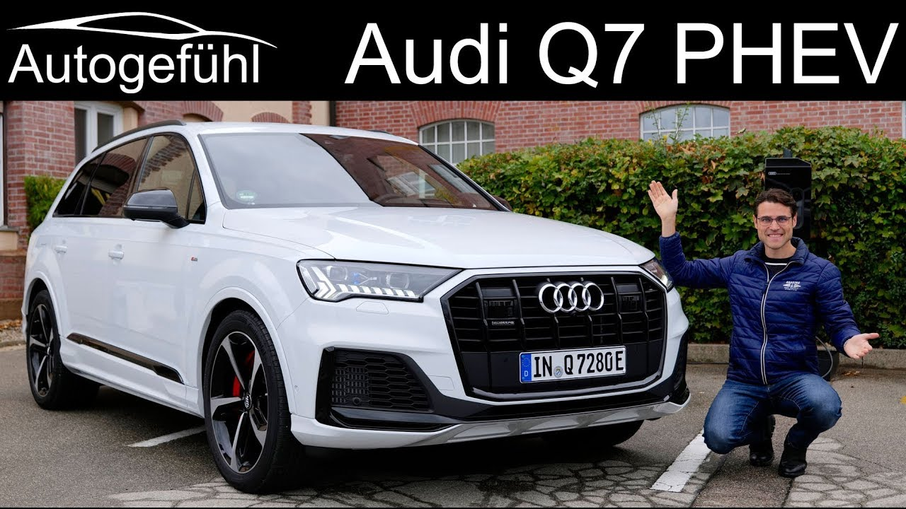 Audi Q7 S Line Facelift Full Review With 60 Tfsi E Quattro New Phev Youtube