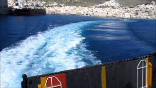 Blue Star Paros : Ταξίδι Σύρος-Τήνος-Μύκονος (Trip to Syros-Tinos-Mykonos)