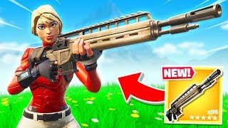 LEGENDARY Infantry Rifle in New Fortnite Update!