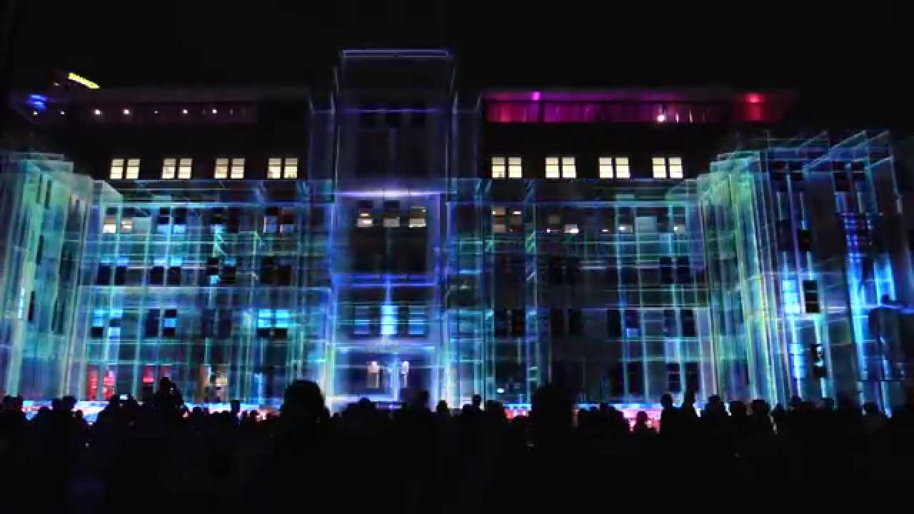Vivid Sydney 2015 Light Festival Building Projection Youtube