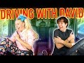 DRIVING WITH DAVID DOBRIK!!!