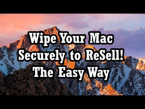 How to erase your macbook pro before selling