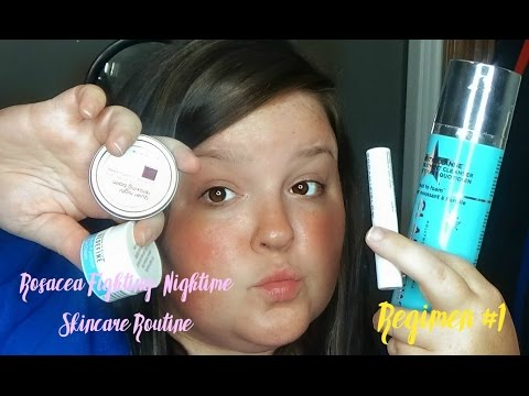 Rosacea Fighting Night time Skin Care Routine Part 1| JK Beauty Review
