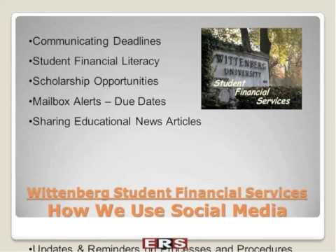 Webinar: Social Media and Student Financial Services