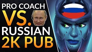 PRO COACH vs. 2K MMR RUSSIAN DOTA - Mistakes to AVOID and Beginner Tips and Tricks | Dota 2 Guide