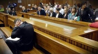 Oscar Pistorius: Zeugin bricht in Tränen aus   Paralympics-Star vor Gericht