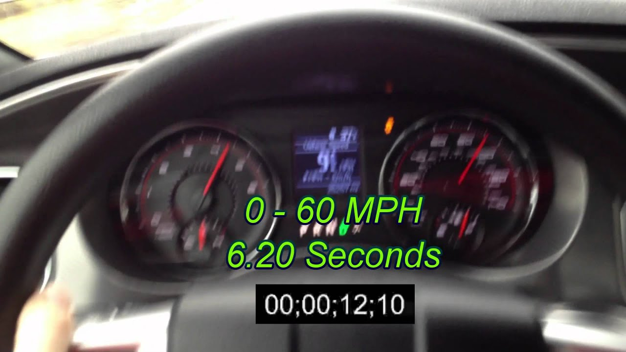 2012 Dodge Charger SE Acceleration Review | 0-60 #15