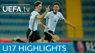 UEFA Under-17 highlights: Germany 3-1 Bosnia & Herzegovina