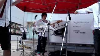 仙台定禅寺ストリートジャズフェスティバル2009でのパフォーマンス イケ...