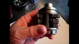 Sachs/ Sram 7 speed gearhub. Timing the planetary shafts