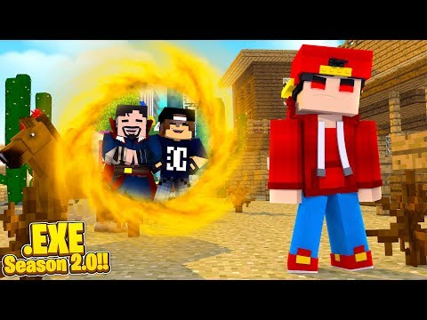 Minecraft .EXE 2.0 - DR.STRANGE WON'T LET ROPO .EXE HOME, HES TRAPPED IN THE WILD WEST!!