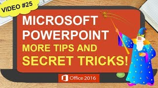 POWERPOINT TIPS AND SECRET TRICKS | MORPH TRANSITION | FEATURING MICROSOFT POWERPOINT 2016 (#25)