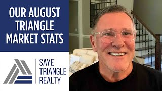 August 2021 Triangle Market Stats