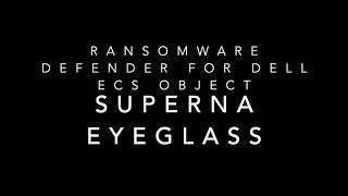 Ransomware Defender for Dell ECS Object Storage
