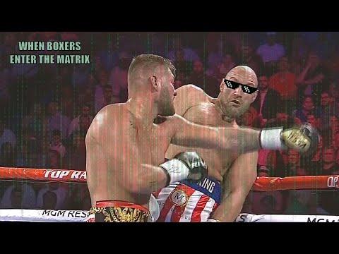 When Boxers Enter The Matrix