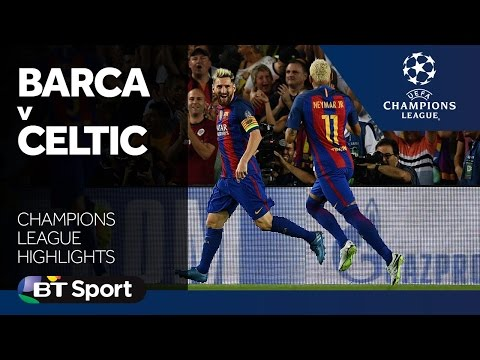 Barcelona 7-0 Celtic | Champions League highlights