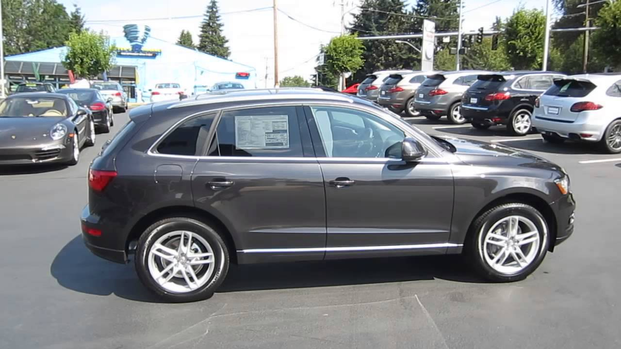 2014 Audi Q5 Lava Gray Stock 109461 Youtube