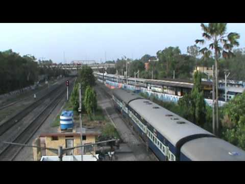 Honking competition between EMD Piglet and Alco: Saraighat meets Ganadevta