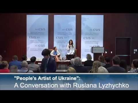 Ruslana - Center for Strategic and International Studies (CSIS) | Washington, US. 10.09 (full video)