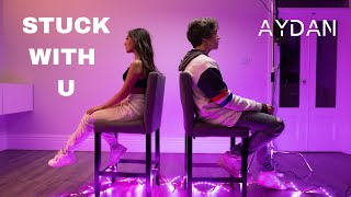 Download Lagu STUCK WITH U - Justin Bieber Ariana Grande Cover by AYDAN Mia MP3