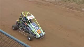 ERM Racing 160/120 Quarter Midget Heat Races- 8/10/2018