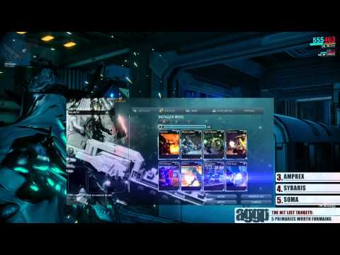 Warframe top 5 primary weapons worth forma ing the hitlist