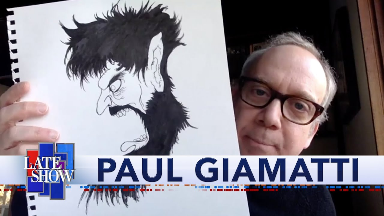 Download Paul Giamatti's Quarantine Drawings Are Spectacular
