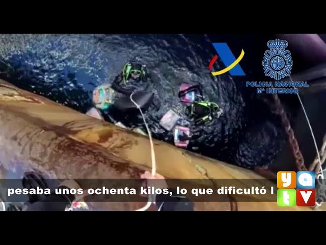 Aprehendidos en el puerto de Algeciras 380 kilos de cocaína ocultos bajo un buque portacontenedores
