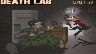 Play Free Online Shooting Games! Death Lab - Gameplay (1-20 levels)