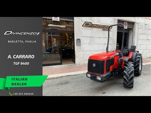 Antonio Carraro Tgf 9400 Trattori Usati Used Tractors