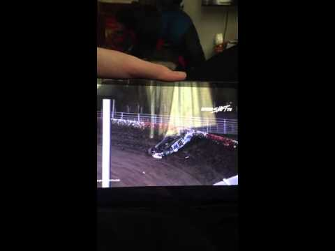 Flip At Beatrice Speedway