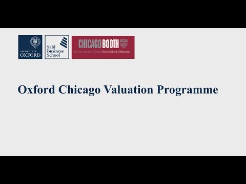 OCVP Webinar: How valuation applies to corporate and private equity investments