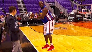 World Record Longest Basketball Hook Shot! | Harlem Globetrotters