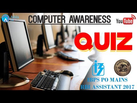 IBPS PO MAINS, RBI ASSISTANT | Computer Quiz |  Online Coaching for SBI IBPS Bank PO