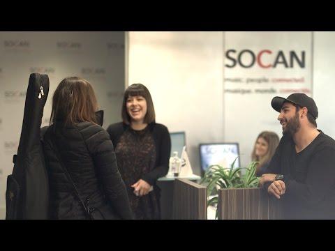 Join the SOCAN Team - Joignez-vous à l'Équipe SOCAN