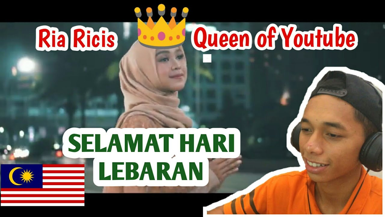 Malaysia Reaction Selamat Lebaran Ungu Cover By Ricis Official