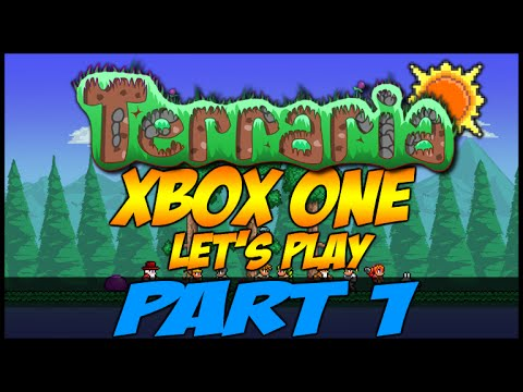 Let's Play Terraria XboxOne | Learning The Basics Part 1 (XboxOne Let's Play)