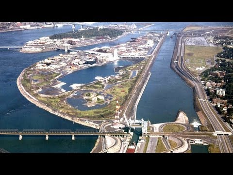 Les Grands Projets Québécois - La Voie Maritime du Fleuve Saint-Laurent