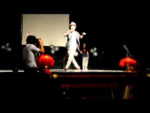 Northumbria University Malaysian Night Dance Performance by JJ & Edwin