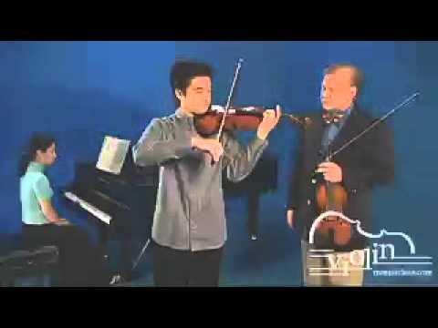 Vibrato Master Class: Mozart Violin Concerto no. 4