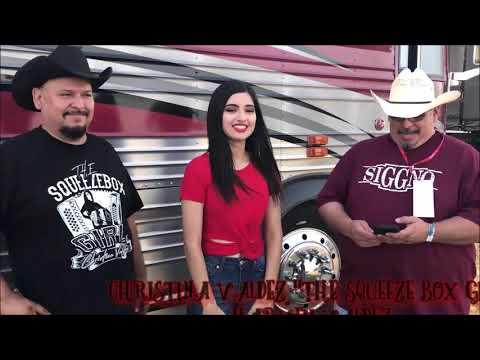Harvey & Christina Valdez - The Squeeze Box Girl From Christina Y Los Latinos
