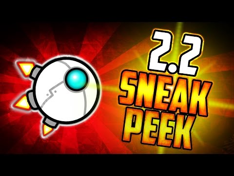 GEOMETRY DASH 2.2 SNEAK PEEK GAMEPLAY REVIEW!!