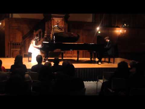 The Scholtes & Janssens Piano Duo plays Scaramouche - Brazileira