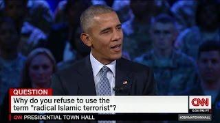 Obama: Why I wont say Islamic terrorism