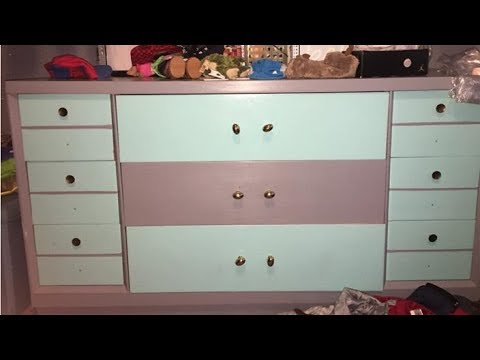 Chest Of Drawers Pink White Or Blue Grey