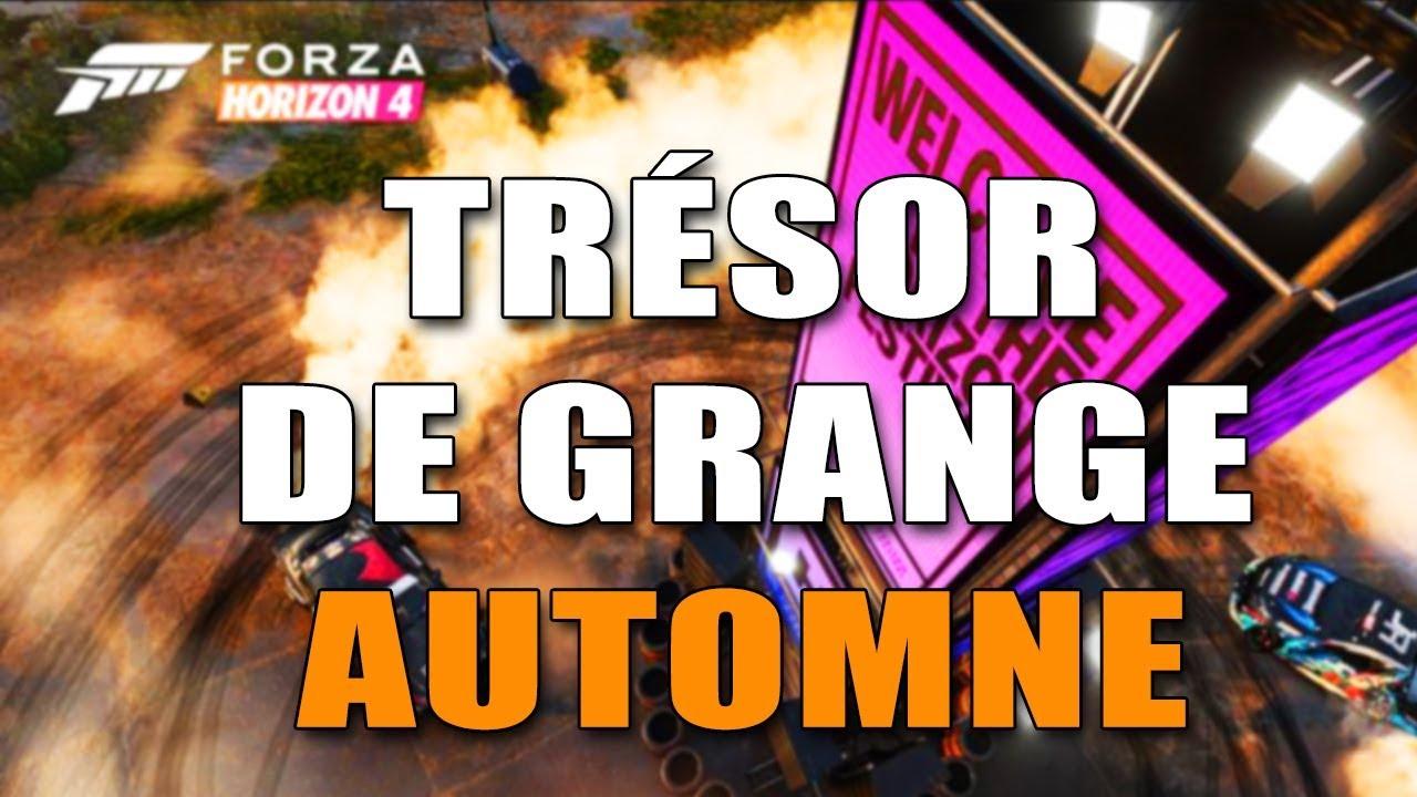 Forza Horizon 4 Emplacement Tresor De Grande Special Automne Youtube