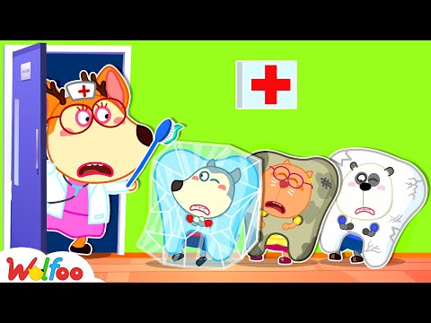 Wolfoo Tooth Going to the Dentist - Protect Your Teeth With Wolfoo -Kids Good Habits | Wolfoo Family