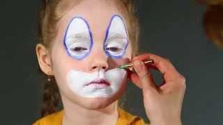 """Набор театрального грима """"Клоун"""" - инструкция по созданию образа"""